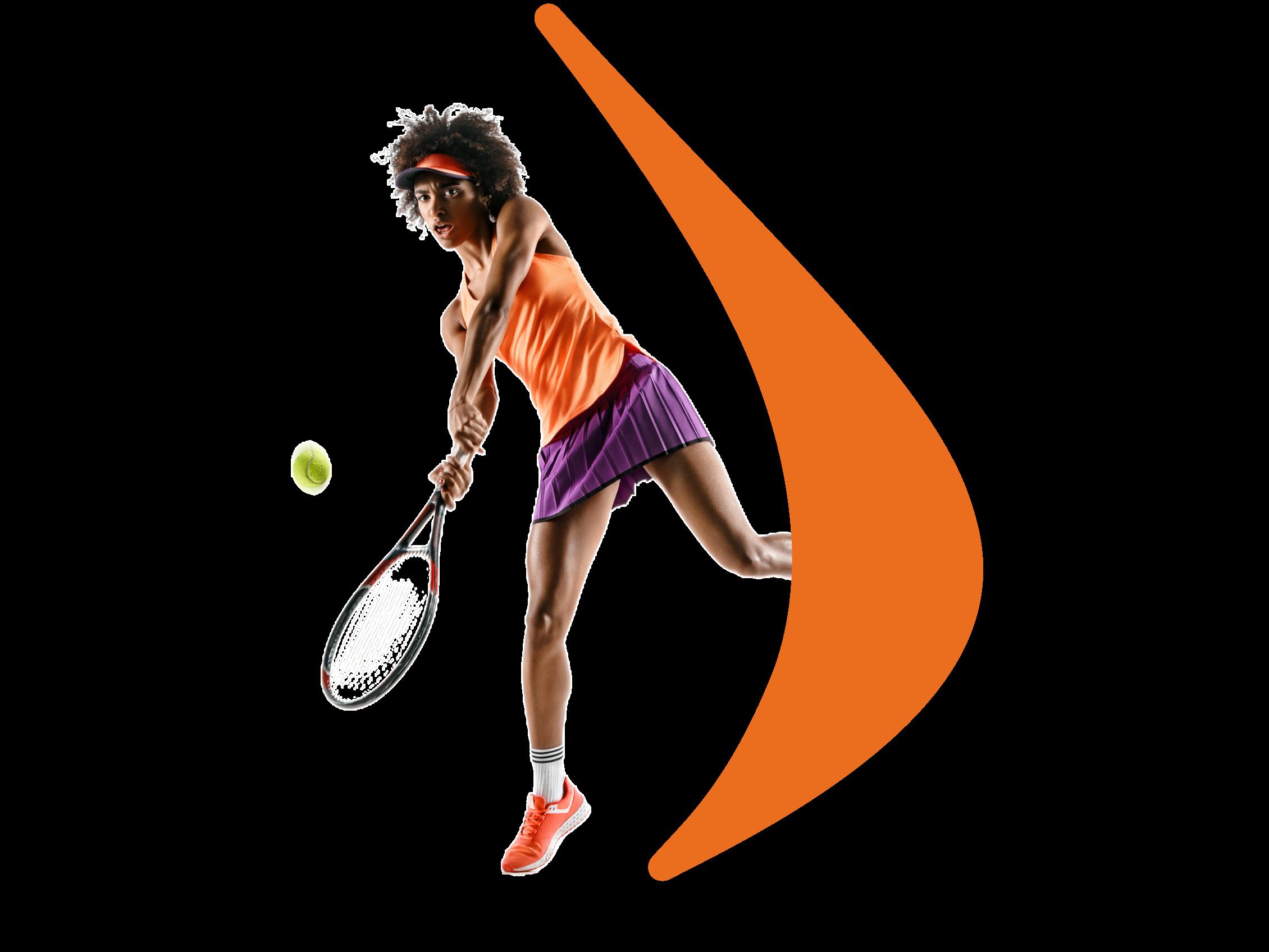 Tennis-Montage